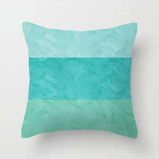 🚚 Ocean Coloublock Throw Pillow Cushion Cover