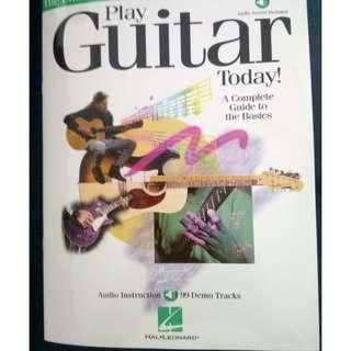 Hal Leonard Guitar Instruction Book