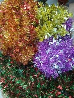 used Christmas decorations