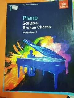 Piano scales & broken chords