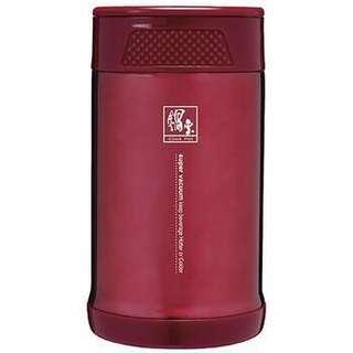 🚚 鍋寶-304不鏽鋼超真空燜燒罐 保溫杯(紅)