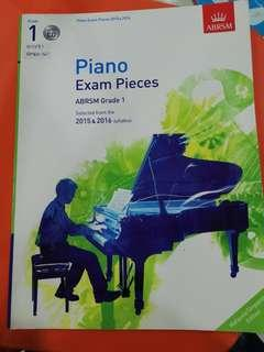 Piano exam pieces grade 1
