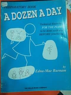 A dozen a day - piano book