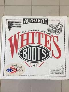 White's shoes