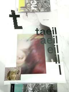 nct 127 regular taeil poster instock