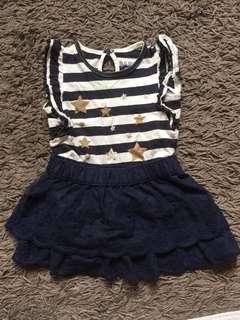Combo Top & Skirt