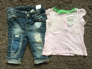 Combo Top and Jeans