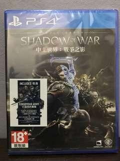 📣📣SALE📣📣 PS4 Middle Earth Shadow of War
