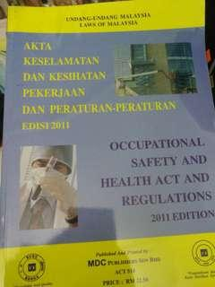 occupational safety and health rules and regulation(edition 2011)