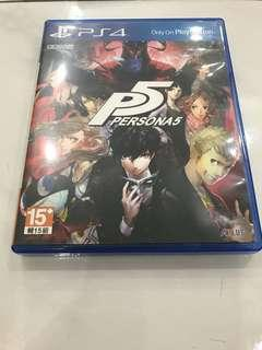 Persona 5 Chinese Ver PS4