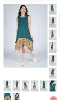 BN HEM Printed Nursing Dress (Jump Eat Cry)