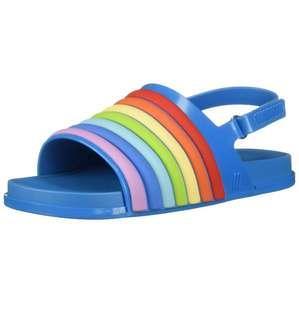 BNIB Mini Melissa Beach Slide Rainbow US7