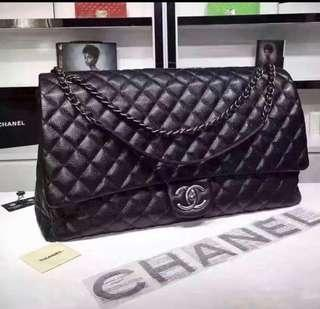 Chanel Airlines XXL classic flap