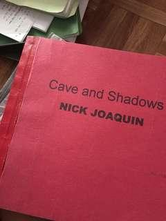 Cave and Shadows Book