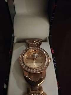 Xoxo Gold Plated Watch