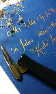 Wedding Invitation Envelope | Caligraphy Service |