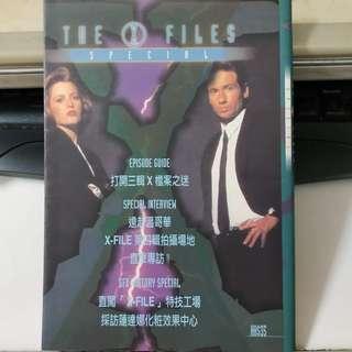 從前電視介紹書 X檔案第3季特別解構@$20