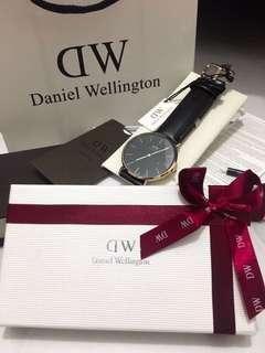Daniel Wellington Classic Black Sheffield 40mm