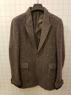 Rick Owens 50 wool gray jacket