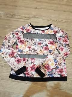 Sweater flowers