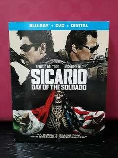 USA Blu Ray Slipcase - Sicario 2 Day of the Soldado