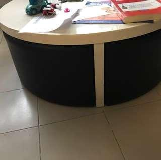 Table and potable chair