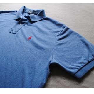 Ralph Lauren Super Soft Men's Blue Polo T-shirt