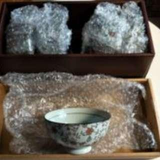 日本美濃茶碗組