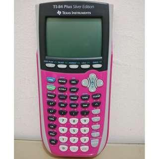 Texas Instruments TI-84 Plus Silver Edition (Warna Pink)