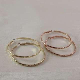 🚚 【現貨】歐美時尚復古圓圈耳環