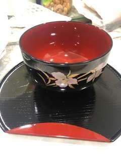 Bowl n tray set