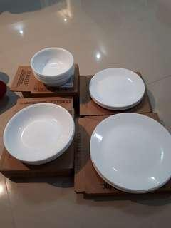 corelle glass bowls and plates dinner plates lunch plates 20oz pasta bowl 18oz cereal bowl