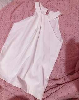 halter top white