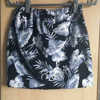 Overlap Tropical Skirt