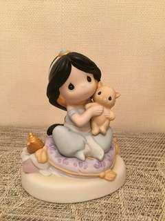 Precious Moments 陶瓷公仔Disney jasmine 茉莉公主
