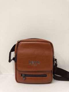 Levis leather sling bag