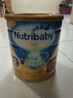 Free-Gratis Susu soya nutri baby usia 6-12 bulan