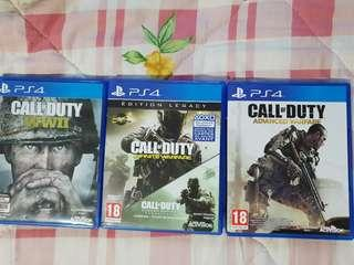 Ps4 games CALL OF DUTY