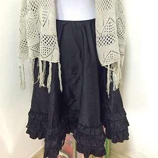 Prada Flare Skirt