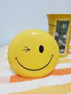 🚚 笑臉陶瓷存錢筒 桌上小物