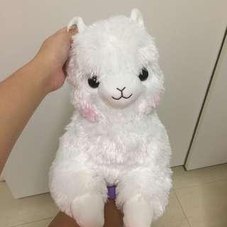 Amuse alpacasso alpaca pure white tissue box cover