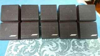 5 pairs Bose Jewel Cubes Satellite/Surround Speakers only