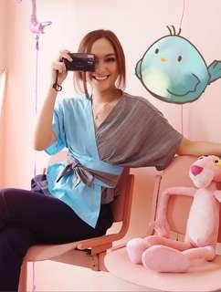Demonte Kimono Blue by Shopivch