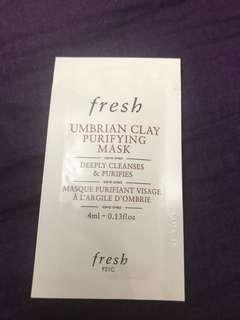 Fresh Umbrian Clay Purifying Mask 4ml