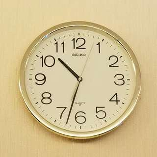 "SEIKO 12"" 掛牆鐘 Wall Clock"