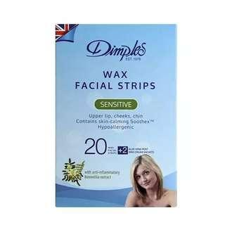 🚚 Face Wax Strips 20 pieces