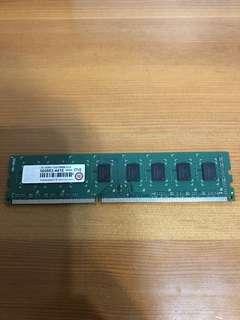 Transcend 創見 DDR3 1333 2G 雙面