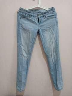 Mango Jeans Biru Muda #yukjualan