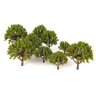 20 Pcs Miniature Scenery Landscape Trees (3cm-6cm)