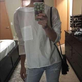 Zara Classy White Top